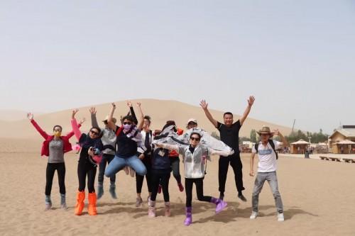 銀娛澳門盃--第八屆青少年國情知識競賽獲奬學生西北參訪