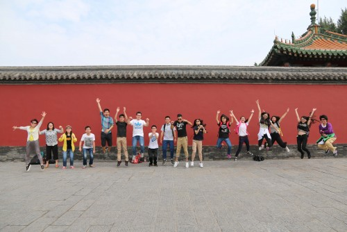 銀娛澳門盃--第七屆青少年國情知識競賽獲奬學生撫順參訪
